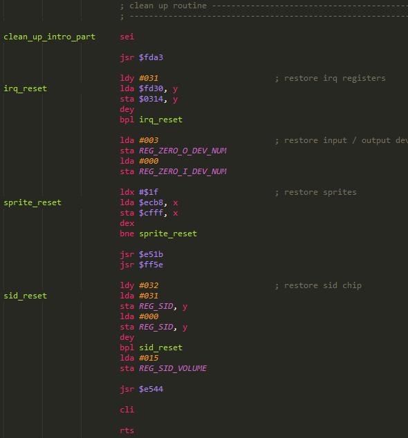 Simple C64 Loader