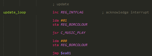 C64 Music player