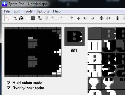 SpritePad snapshot import